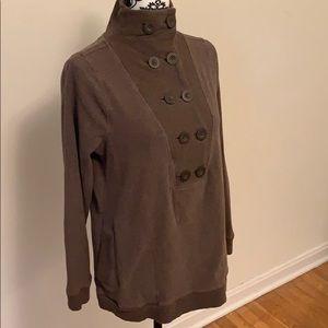 Banana Republic Brown Button Sweater